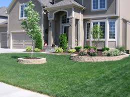 design of front of house landscaping ideas garden design garden