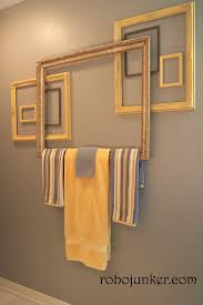 Bathroom Towel Holder 15 Diy Towel Holders To Spruce Up Your Bathroom