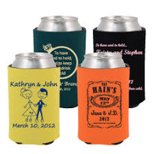 personalized wedding koozies buy wedding koozies custom wedding coolers koozie wedding