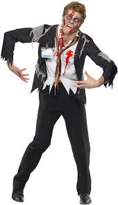 worked to death office zombie male costume buycostumes com
