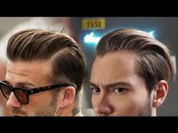 david beckham inspired hairstyle s slicked back ruben