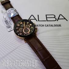 Jam Tangan Branded Alba jam tangan alba at3566x1 leather original jual jam tangan original
