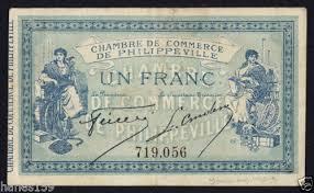 chambre de commerce ales algeria chambre de commerce philippeville 1 franc 1914 vf