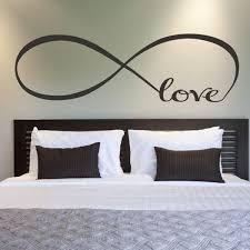 bedroom wall stickers bedroom wall stickers decor infinity symbol art great gift idea