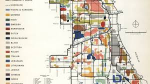 Chicago Area Map Mapping Chicago U0027s Diverse Ethnic Communities In 1950 Curbed Chicago