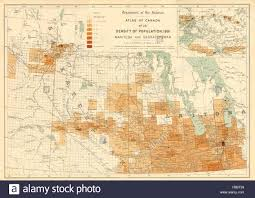 Population Density Map Of Canada by Population Density Map Stock Photos U0026 Population Density Map Stock