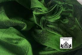 Shamrock Green Shamrock Green Silk Fabric By The Yard Dupioni Silk Upholstery