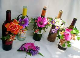 wine bottle wedding centerpieces 28 creative wine bottle centerpieces lots of table decoration