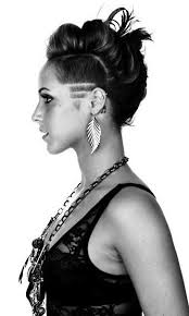 best 25 shaved side hairstyles ideas on pinterest shaved side