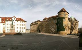 stuttgart castle altes schloss old castle of the german city stuttgart stock