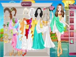 dress games celebrities barbie roman barbie princess dress