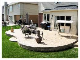 Concrete Patio Designs Amazing Raised Concrete Patio Ideas Raised Concrete Patio Designs