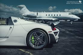 white porsche 918 3 white porsche 918 spyder weissach pachage rear wheel green