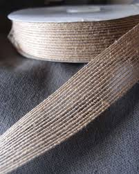 wholesale burlap ribbon jute ribbon with serged edge 1 x 25 yards 75