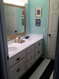 8 bulb vanity light no budget builders grade bathroom