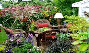 rustic backyard ideas small flower garden design ideas very small