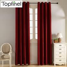 Burgundy Velvet Curtains Plain Velvet Cotton Curtains For Living Room Bedroom Door Window