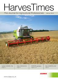 harvestimes winter 2015 by claas uk issuu