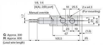 5 2 way pneumatic solenoid operated valves vf3130 vf3230 vf5120