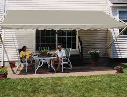 Awning Amazon Amazon Com 20ft Sunsetter Sand 1000xt Retractable Awning Patio