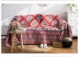 canap turc multifonction tricoté couverture kilim glands carpet pour canapé
