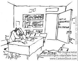 dessin humoristique travail bureau psychaanalyse