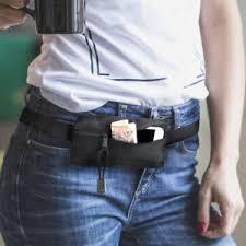 mini concealed pack waist belt sport outdoor secure concealed mini bum bag