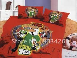 Ben 10 Duvet Bedding Cats Picture More Detailed Picture About Free Shipping