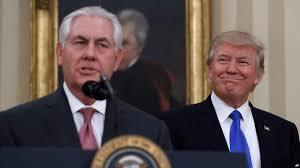 Trump In The Oval Office Tillerson Sworn In As Trump U0027s Secretary Of State