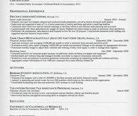 Sample Accounting Resume Super Ideas Sample Accounting Resume 11 Accountant And Tips Cv