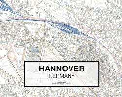 Hannover Germany Map by Download Hannover Dwg Mapacad