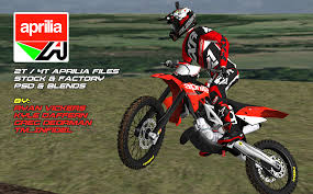 fxr motocross gear aprilia 2t u0026 4t stock factory psd u0026 blends release mx simulator