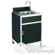meuble cuisine exterieur inox meuble cuisine exterieure meuble acvier en acier inox pour jardin