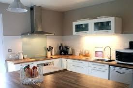 cuisine blanc laqué plan travail bois cuisine blanche et bois cuisine 4 cuisine taupe suggestions cuisine
