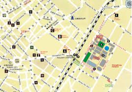 Map Walking Distance Accommodation Information