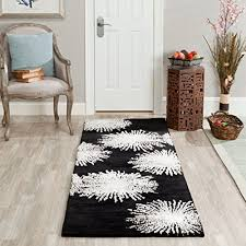 White Area Rug Black And White Area Rugs