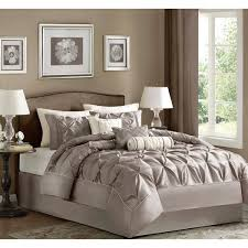 solid white comforter set best 25 taupe bedding ideas on pinterest white rustic bedroom