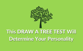 this draw a tree test will determine your personality