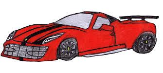 sports car drawing art fast car kidzera