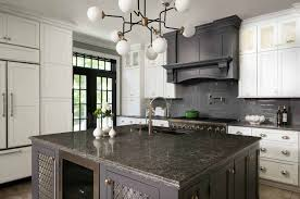 gray kitchen cabinets with black granite 30 stylish and kitchens with light and contrasts