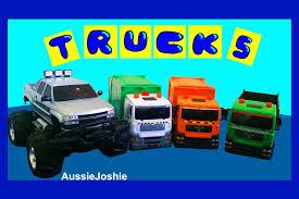 monster trucks video for kids garbage trucks toy recycling trucks monster truck unboxing toys