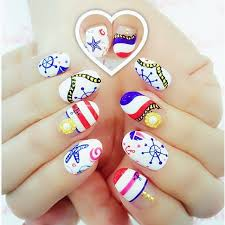 52 best fourth of july nails images on pinterest 4th of july