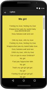 La Meme Histoire Lyrics - toofan music lyrics android apps on google play