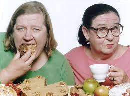 the two fat ladies they loathed each other so says one of their