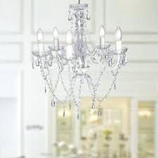 Clear Acrylic Chandelier Clear Acrylic Chandelier Silver Chrome Finish Metal And Clear
