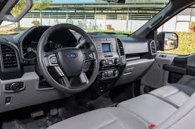 2018 ford f 150 4x2 supercab xl front interior detail 02 motor trend