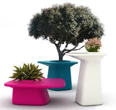 moma patio furniture and planters from vondom