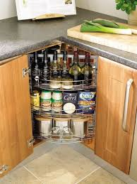 kitchen corner cabinet storage ideas spices and home bar in a kitchen corner cabinet home