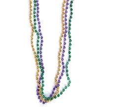 mardi gras beeds 33 mardi gras party throw toss bead necklaces pack