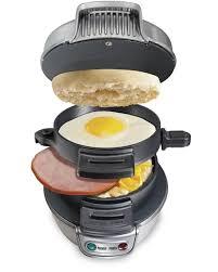 Hamilton Beach Breakfast Sandwich Maker Small Kitchen Appliance ST29